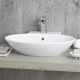 recor overcounter sink – geo 23″ x 19″ | | bliss bath and
