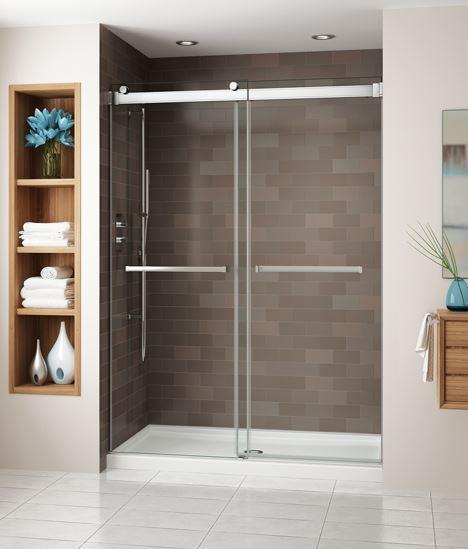 Fleurco Shower Door Gemini Bypass Bathroom Accessories