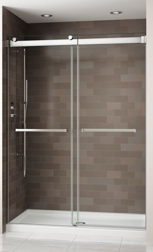 Fleurco Shower Door Gemini ByPass