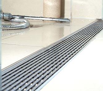 Bon ACO  Quartz  Plain Edge Shower Channel