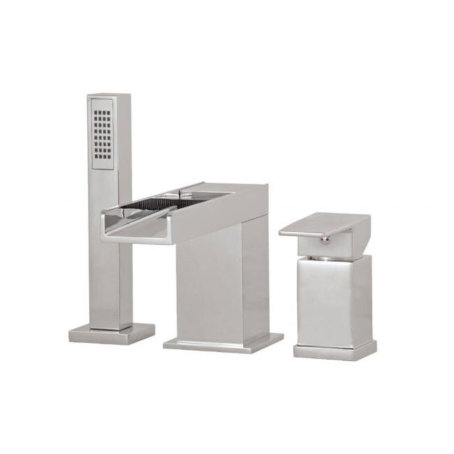 Aquabrass 3 Piece Deckset Tub Filler Streem 77313
