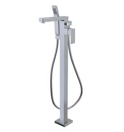 Aquabrass Floor Mount Tub Filler Madison 86085