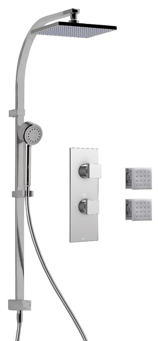 Aquabrass UNIPLEX  Shower Kit- U-22-015