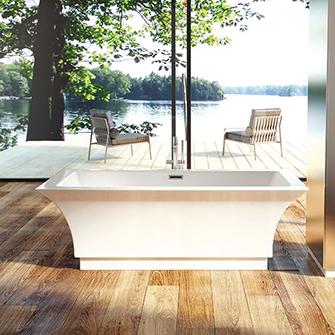 """Azzura-bathtub-Onyx 67"""""""