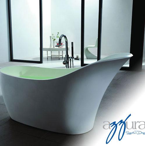 "Azzura-bathtub-Sirena 66.5"""