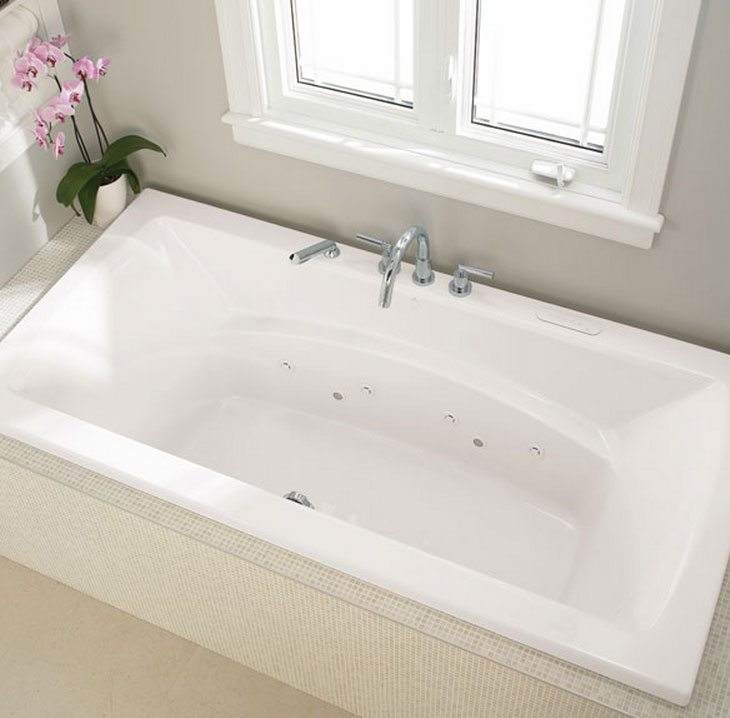 Neptune Believe 4272 Rectangular Bathtub