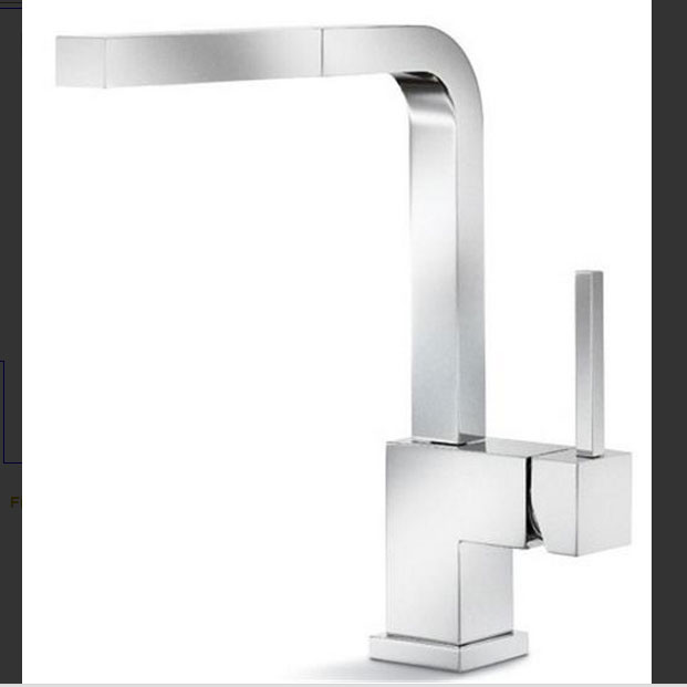 Modern Kitchen Faucet kitchen faucet modern silhouette 400548 / 400549