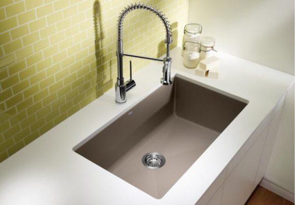 Blanco Kitchen Sink  Precis U Super Single 400890
