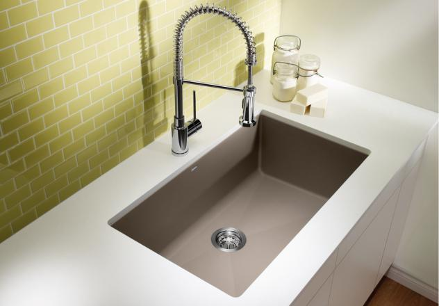 Blanco Kitchen Sink  Precis U Super Single 400890