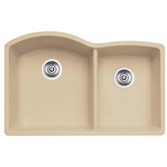 Blanco Kitchen Sink Silgranit Diamond U 1 3/4 400076