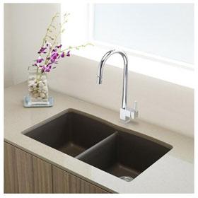 Buy bathroom fixtures online blanco kitchen sink for Silgranit bathroom sinks