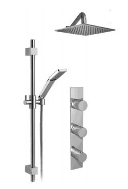 Cabano Sixty Shower Kit SD Buy Bathroom Faucet Online Bliss - Cheap bathroom fixtures online