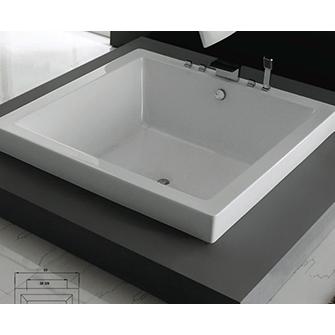 Caml-Tomlin Quadra - 63DI63 Freestanding Bathtub