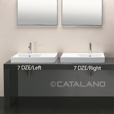 catalano bathroom sink washbasin zero domino 100. Black Bedroom Furniture Sets. Home Design Ideas