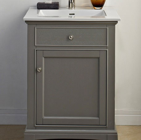 "Fairmont Designs Smithfield 24"" Vanity - Medium Gray"