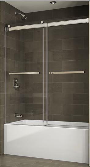 Fleurco Gemini Bypass Tub Enclosure Bliss Bath And Kitchen