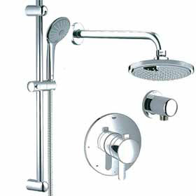 grohe pbv dual function shower kit