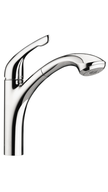 Hansgrohe Allegro E 2-Spray Kitchen Faucet, Pull-Out