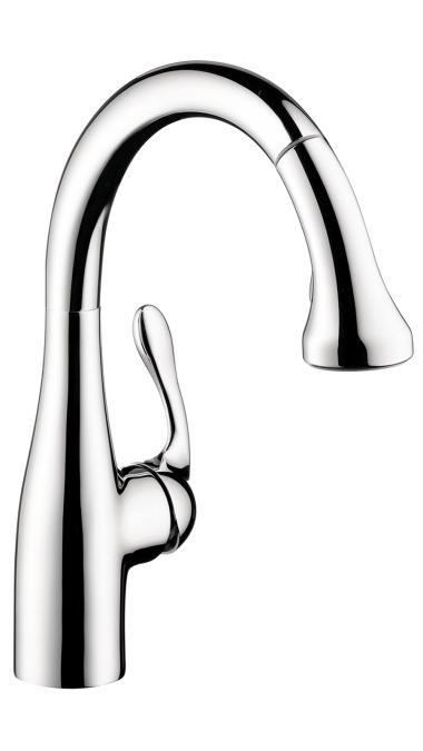 Hansgrohe Allegro E Gourmet 2-Spray Prep Kitchen Faucet, Pull-Down