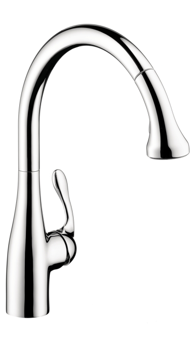 Hansgrohe Allegro E Gourmet 2-Spray SemiPro Kitchen Faucet, Pull-Down
