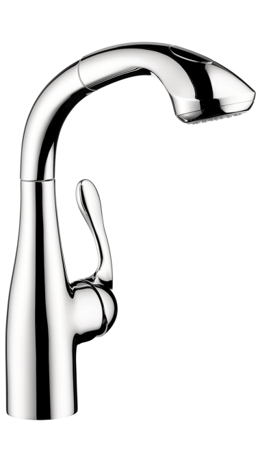 Hansgrohe Allegro E Prep 2-Spray Kitchen Faucet, Pull-Out