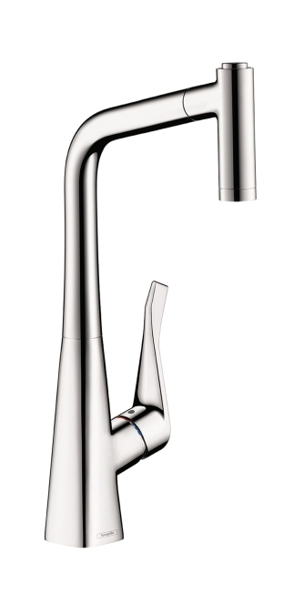 Hansgrohe Metris 2-Spray Prep Kitchen Faucet, Pull-Out