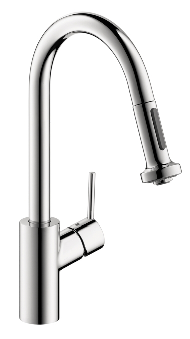 hansgrohe talis s 2 spray higharc kitchen faucet pull. Black Bedroom Furniture Sets. Home Design Ideas