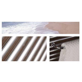ICO Canada Towel Warmer - SAVOY in Chrome