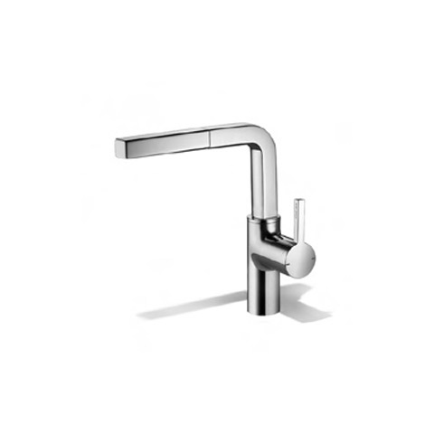 kwc ava kitchen faucet kwc 191 103 kitchen faucet in chrome and stainless steel 20273