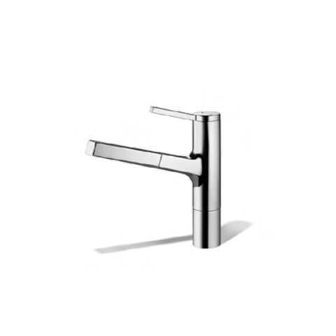 kwc ava kitchen faucet kwc 191 113 kitchen faucet in chrome and stainless steel 20273