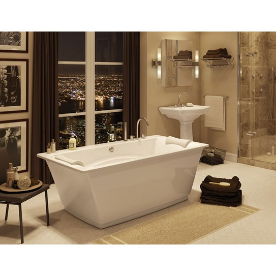 Maax Optik F - 6636 Freestanding Bathtub