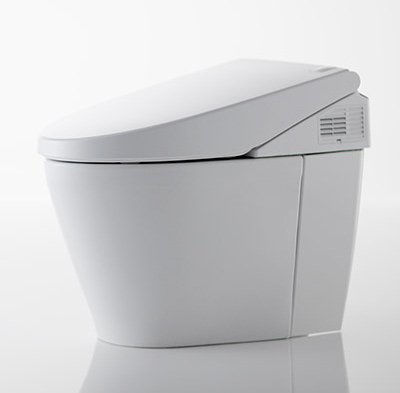 Neorest 550H Dual Flush Toilet, 1.0/0.8 GPF with e-water (MS982CUMG)