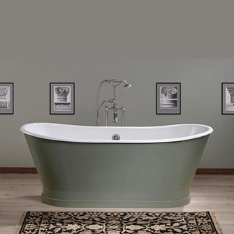 Recor Freestanding Bathtub - Balmoral Cast Iron Bathtub
