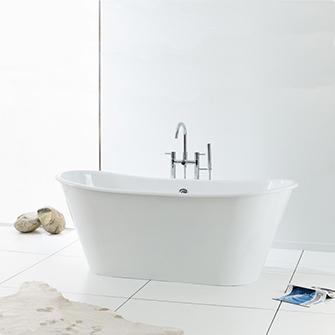 Recor Freestanding Bathtub - Iris Cast Iron Bathtub