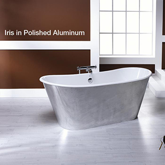 Recor Freestanding Bathtub  Iris Cast Iron Bliss Bath