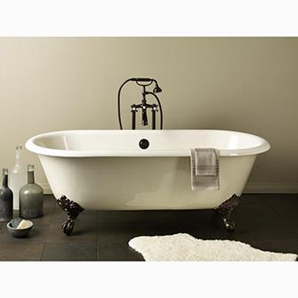 """Recor Freestanding Bathtub -Regal 68""""-Clawfoot Bath"""