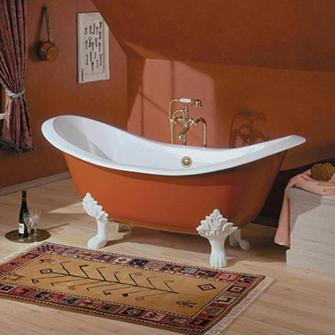 "Recor Freestanding Bathtub -Regency 72""-Lion Feet"