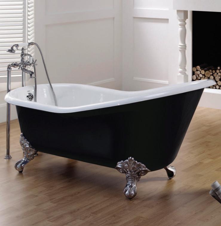 Recor Slipper Imperial Feet Freestanding Bathtub