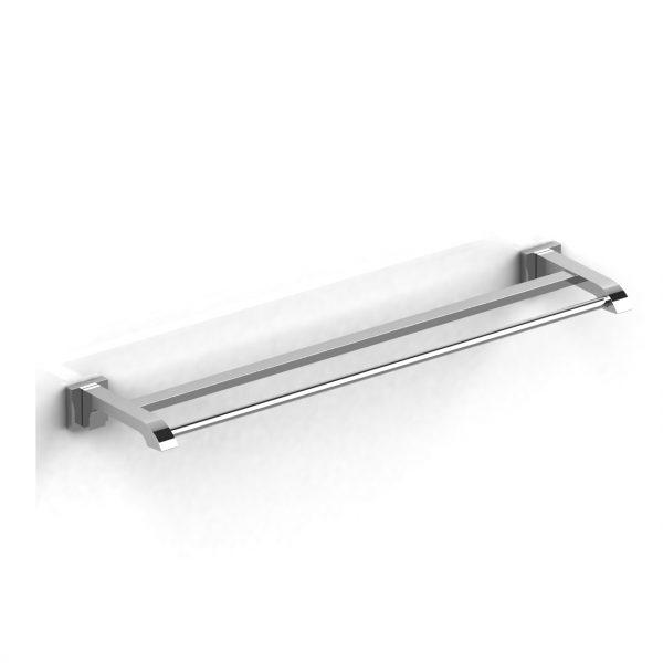 """Riobel Zendo 60 cm (24"""") double towel bar"""