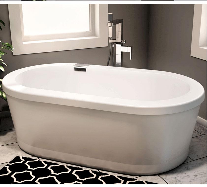 Neptune Ruby - 3260 Freestanding Bathtub