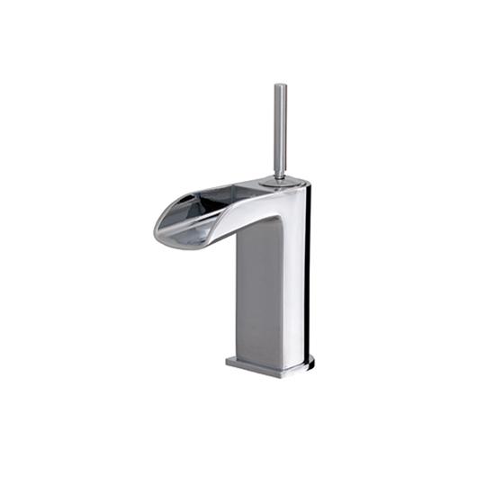 Short single-hole lavatory faucet - 32044