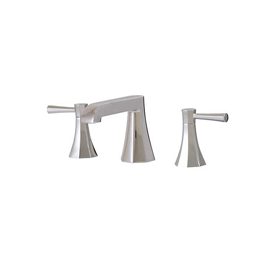 Short widespread lavatory faucet - 53010