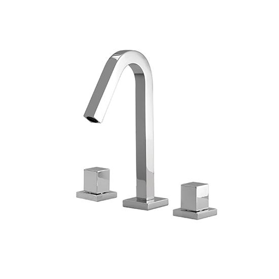 Short widespread lavatory faucet - X7910