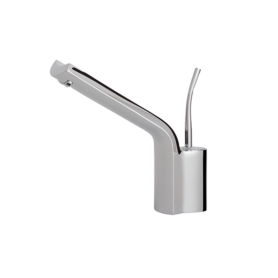 Single-hole lavatory faucet w/ long spout - 80934