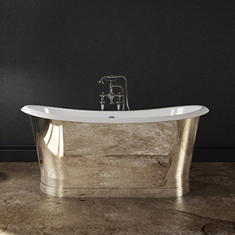 Slik Cast Iron Mirror Freestanding Bathtub