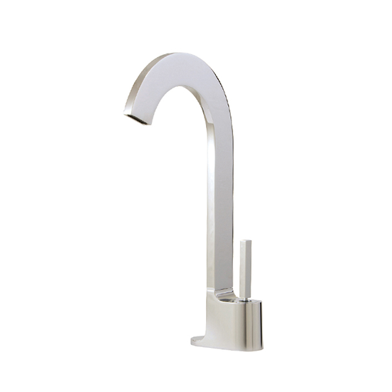 Tall single-hole lavatory faucet with Aquacristal handle - 39520Y