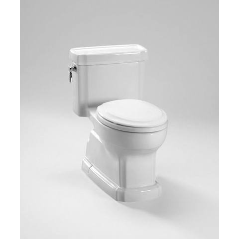 TOTO Eco Guinevere Toilet, 1.28 GPF - ADA with SanaGloss® (MS974224CEFG)