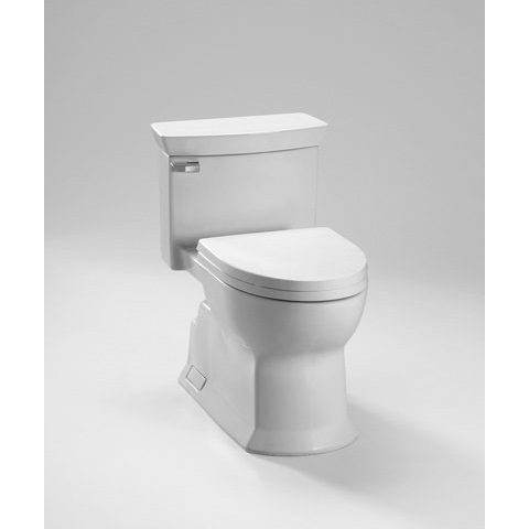 TOTO Eco Soirée One Piece Toilet, Universal Height, 1.28 GPF (MS964214CEFG)