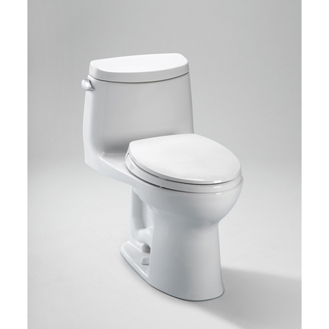 TOTO UltraMax II Toilet, 1.28 GPF with SanaGloss® - ADA  (MS604114CEFG)