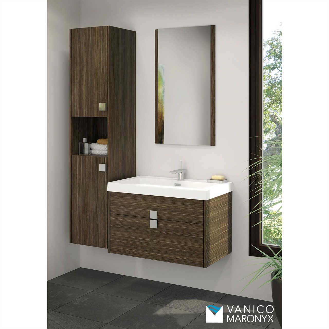 Vanico Maronyx Quadra Vanity Bliss Bath Kitchen